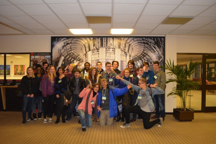 Physics students from St Brendan's visit the Culham Centre for Fusion Energy