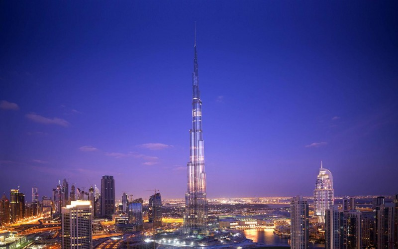 The affluence of Dubai