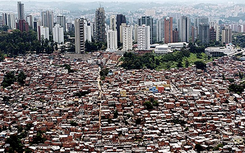 The slums of Sao Pualo